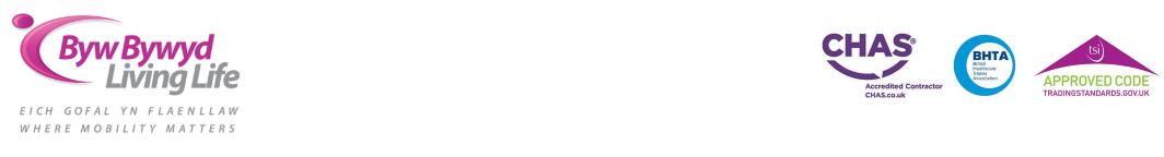 Byw Bywyd - Living Life - logo header